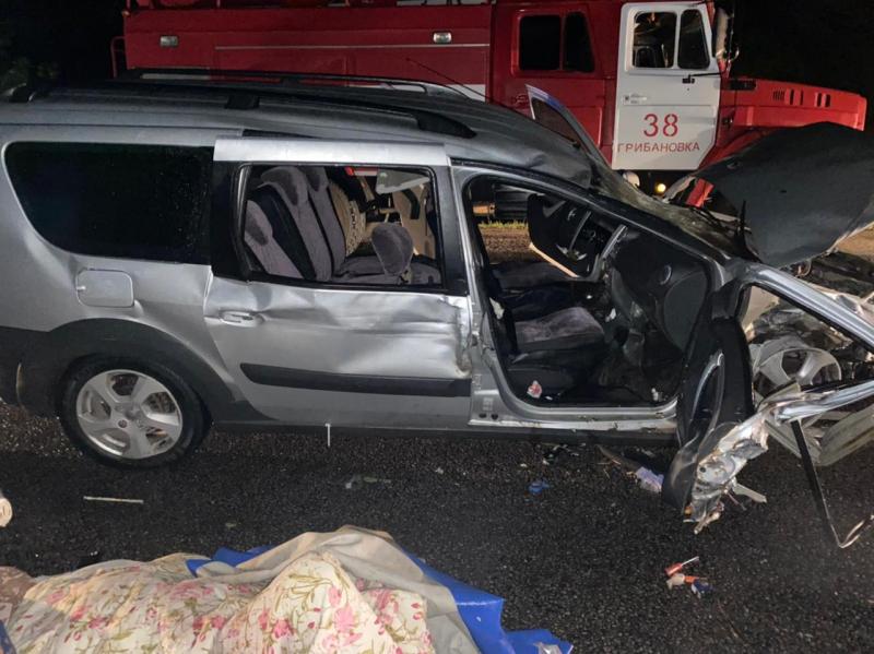 Массовая авария в Грибановском районе Воронежской области