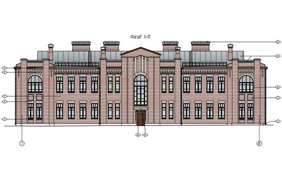 Эскизный проект реставрации здания