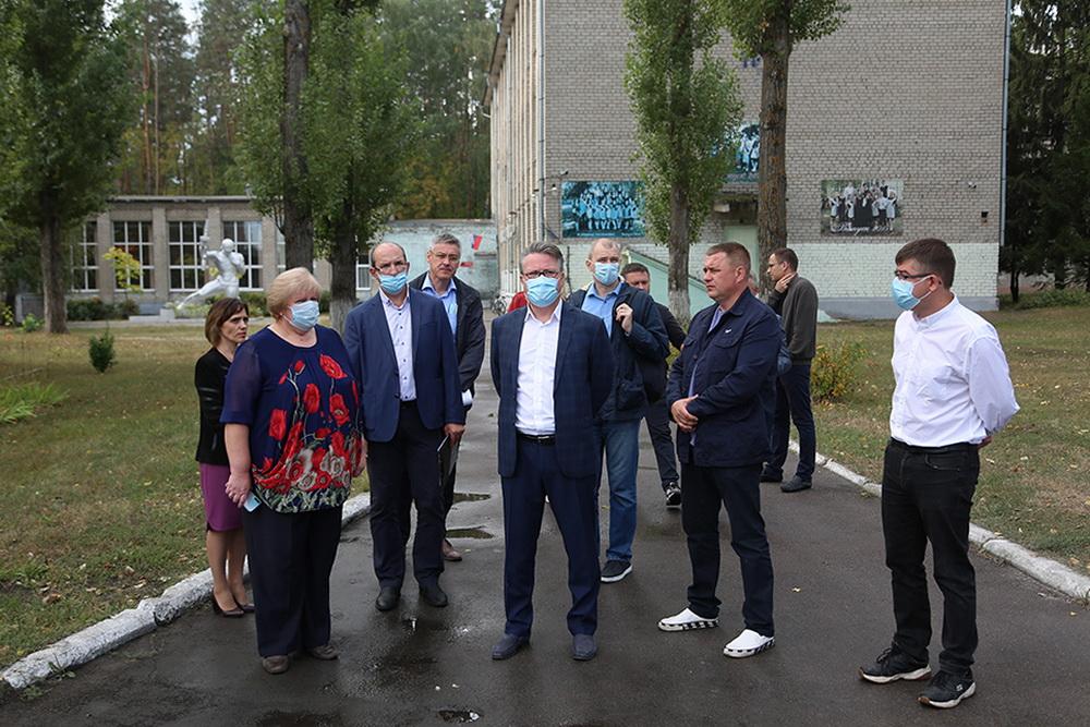 Выездное совещание мэра Воронежа