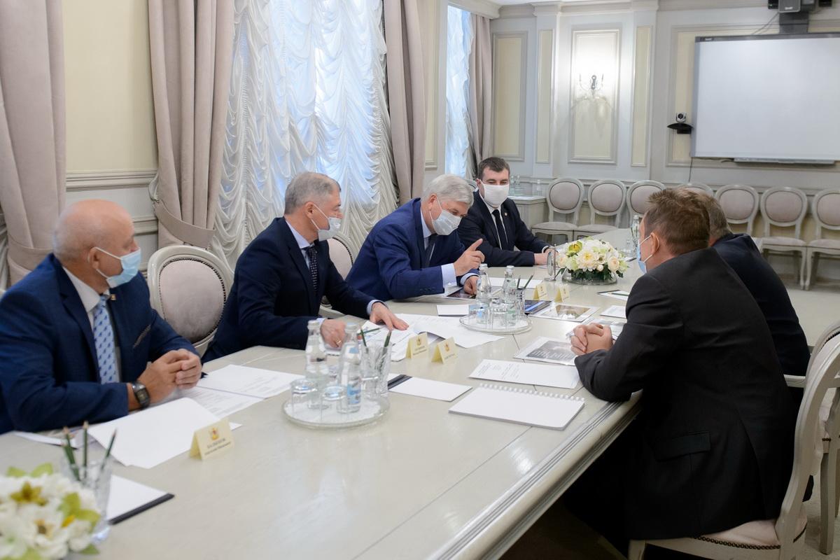 Фото – пресс-служба правительства Воронежской области