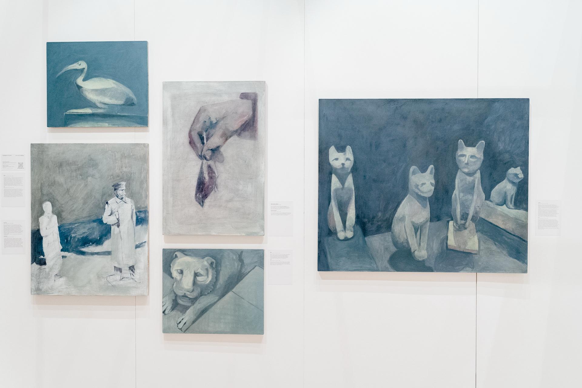 Работы Николая Алексеева на стенде галереи «Х.Л.А.М.»