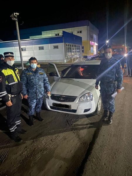 Злостного нарушителя-лихача поймали в Воронежской области