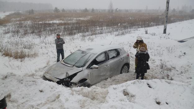 М4 ДОН 438 км ДТП Воронежская область 09.02.2014