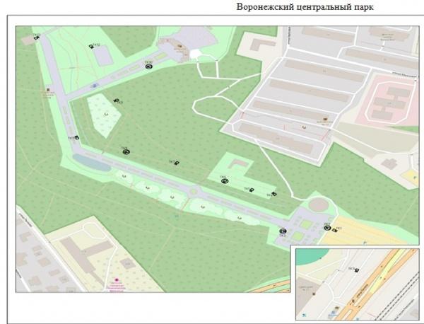 Вворонежских парках искверах установят камеры видеонаблюдения