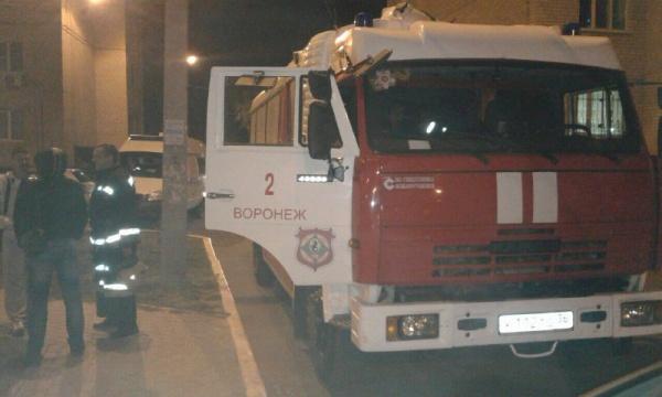 Неменее 20 огнеборцев тушили вечерний пожар вВоронеже