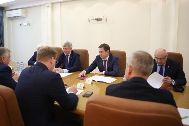Александр Гусев назвал основную задачу руководства Воронежской области