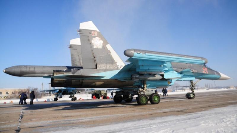 Под Воронежем эскадрилья Су-34 проведёт воздушный бой сэкипажами истребителей