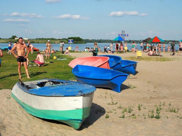 Пляж в рамони фото