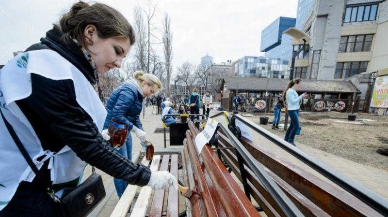 Воронежские власти насчитали навесеннем субботнике 161 тысячу участников