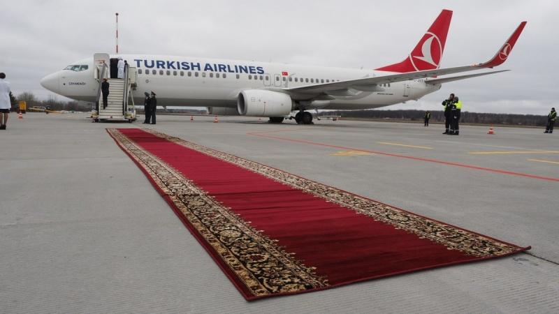 Компания Turkish Airlines планирует увеличить пассажироперевозки на10%, до69 млн человек