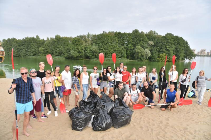 Акция по сбору мусора