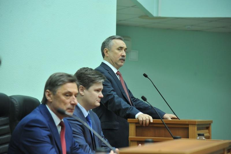 Вдумчивый инеравнодушный: Губернатору Алексею Гордееву представили нового председателя Воронежского облсуда
