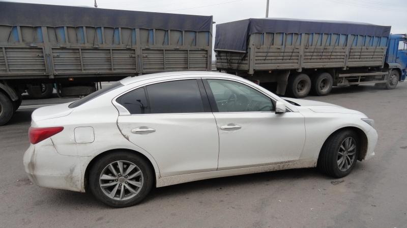 Наворонежской трассе словили водителя «Инфинити» скокаином