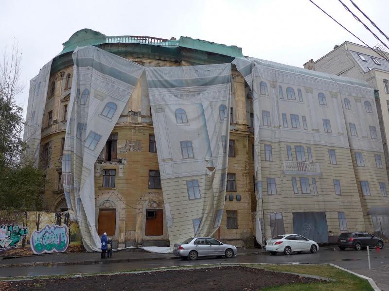 Стало известно, что появится наместе дома-призрака наплощади Ленина