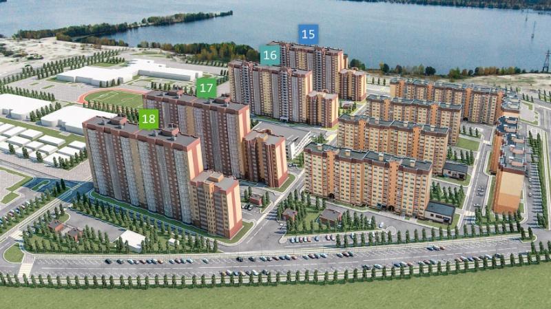 Новый жилой квартал построят вЖелезнодорожном районе