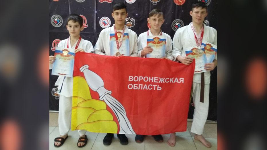 Верхнехавские каратисты получили 2 «серебра» на всероссийских соревнованиях в Подольске
