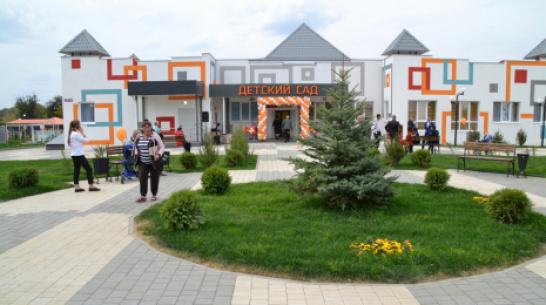В калачеевском селе Манино открыли новый детский сад на 70 мест