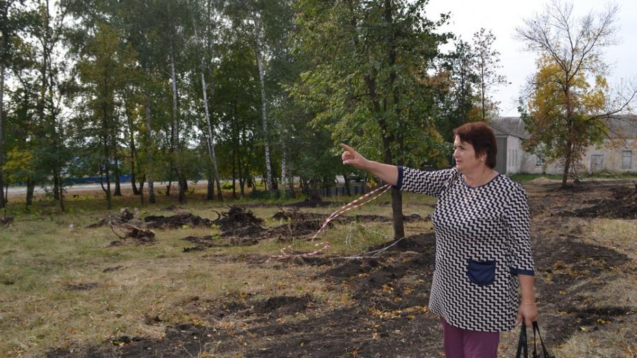 В ольховатском селе Копаная на благоустройство парка потратят 3,5 млн рублей