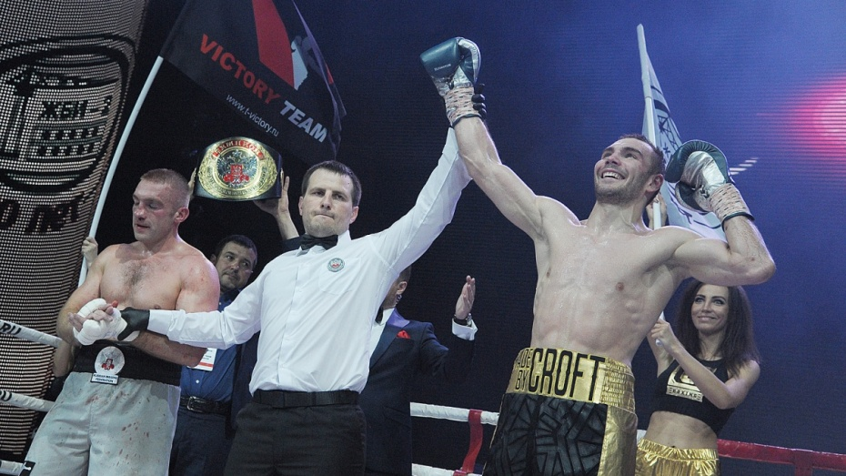 Воронежский боксер Сергей Шарапов проиграл титульный бой Евгению Шведенко