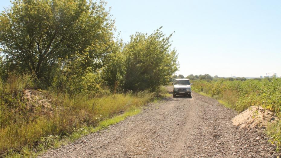 В Хохольском районе на ремонт двух дорог выделили 6 млн рублей