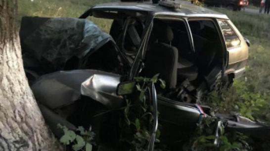 В Воронежской области пьяный водитель легковушки угробил пассажира