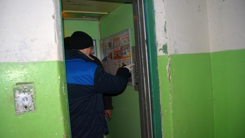 В Воронежской области заменили 194 лифта в 52 домах