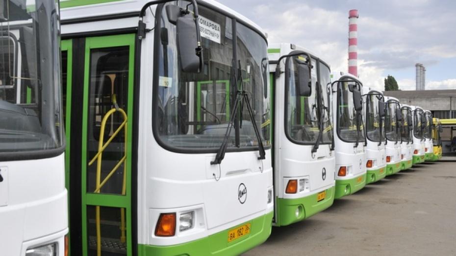 В воронежских автобусах установили видеокамеры