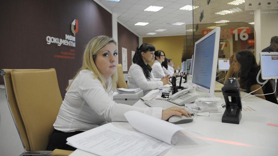 Воронежская область потратит около 60 млн рублей на новые МФЦ