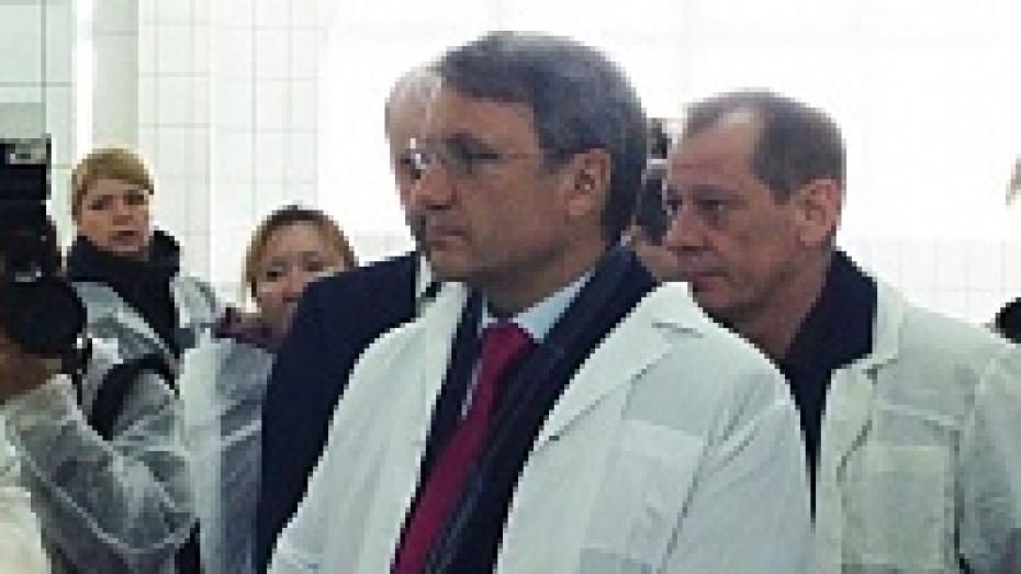 В Воронеж прибыл Герман Греф
