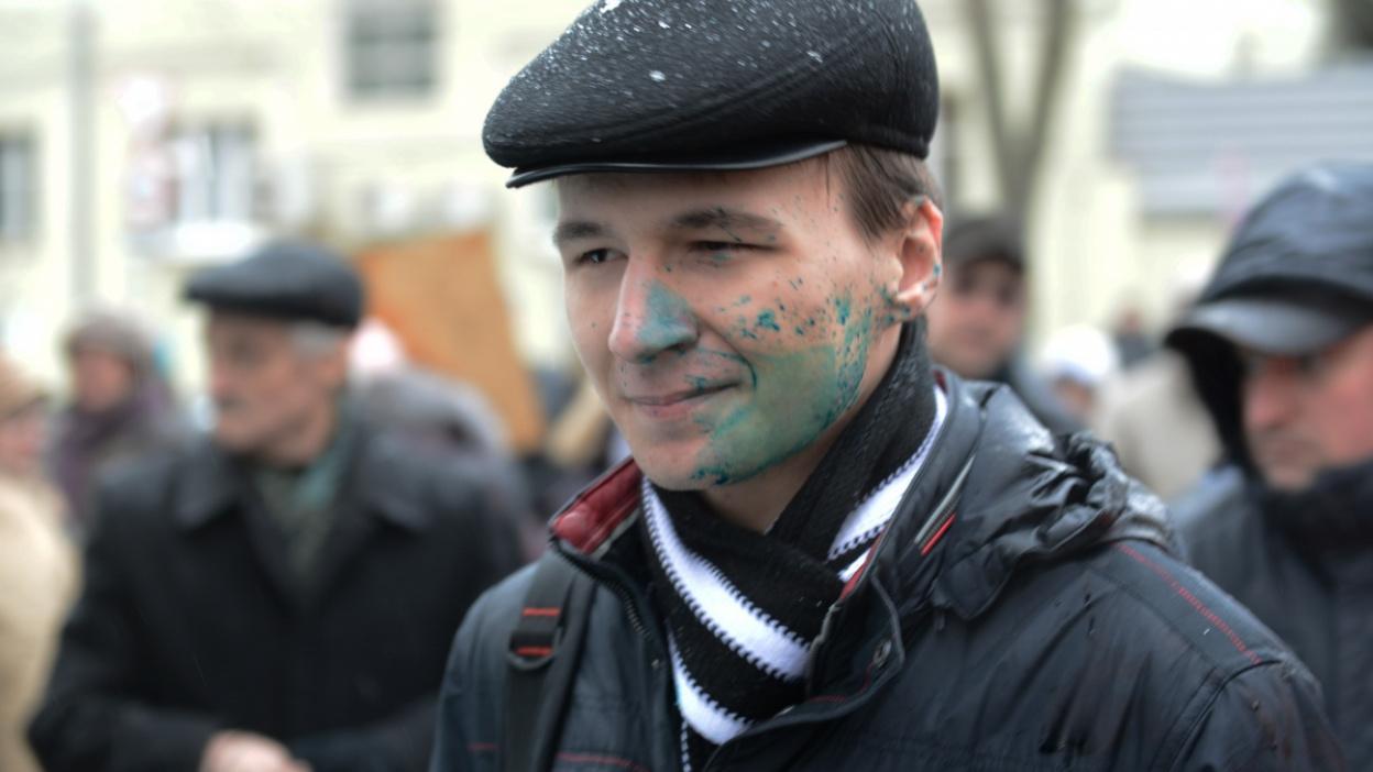 Фото РИА «Воронеж». Как пытались сорвать акцию памяти Бориса Немцова