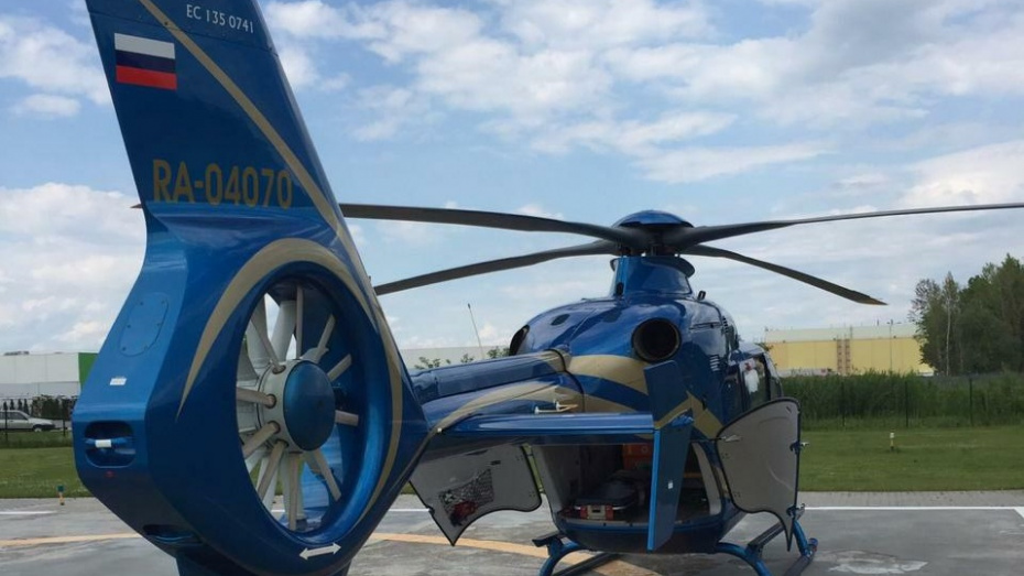 В Нижний Новгород доставили на вертолете еще одного юного воронежца с ожогами