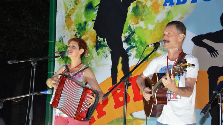 В поворинском селе Пески пройдет 2-й фестиваль авторской песни «Первый мост»