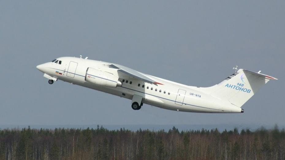 Десять воронежских самолетов Ан-148 передадут в Иркутск