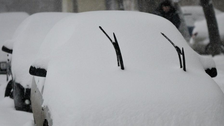 В Челябинской области снегопад оставил без света 64 населенных пункта