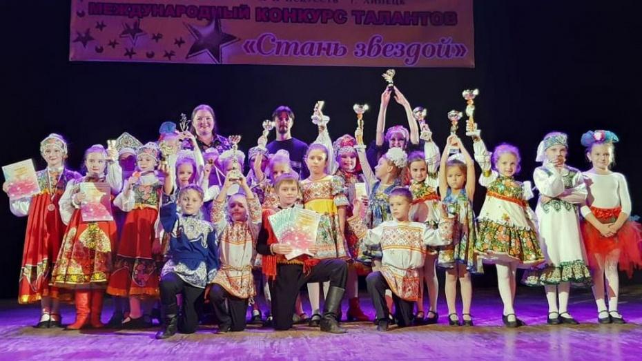Аннинские танцоры завоевали 6 Гран-при Международного фестиваля «Стань звездой»