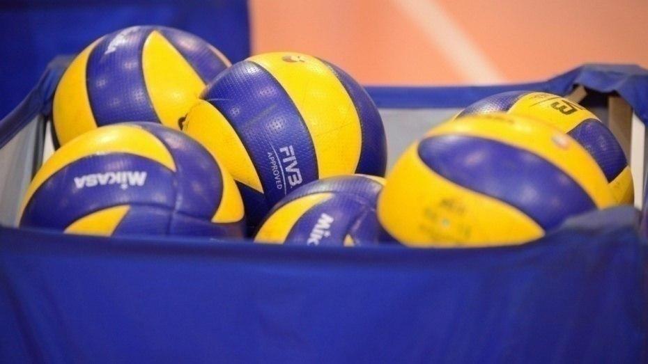 Воронежские волейболисты сыграли в первенстве России