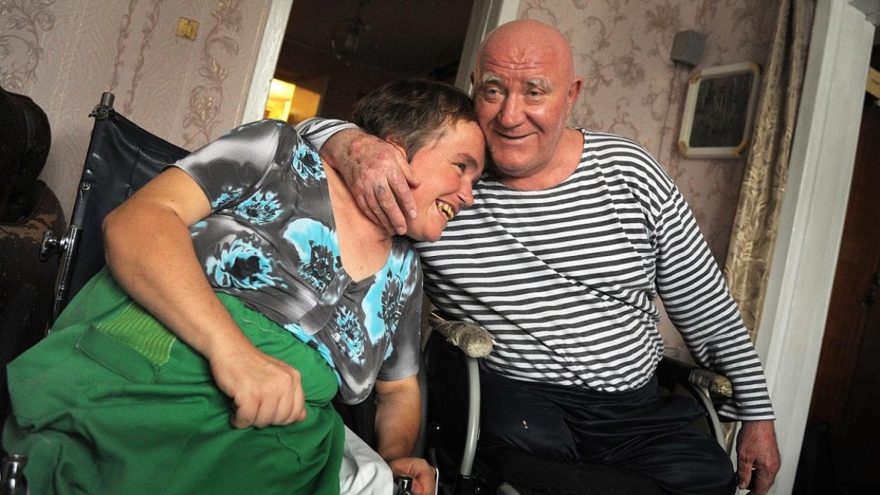 Надо меньше себя жалеть». Семья воронежских инвалидов-колясочников.