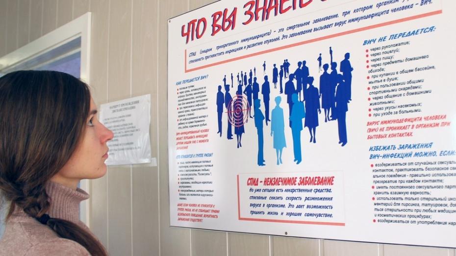 В Лисках у 2 жителей выявили положительный тест на ВИЧ