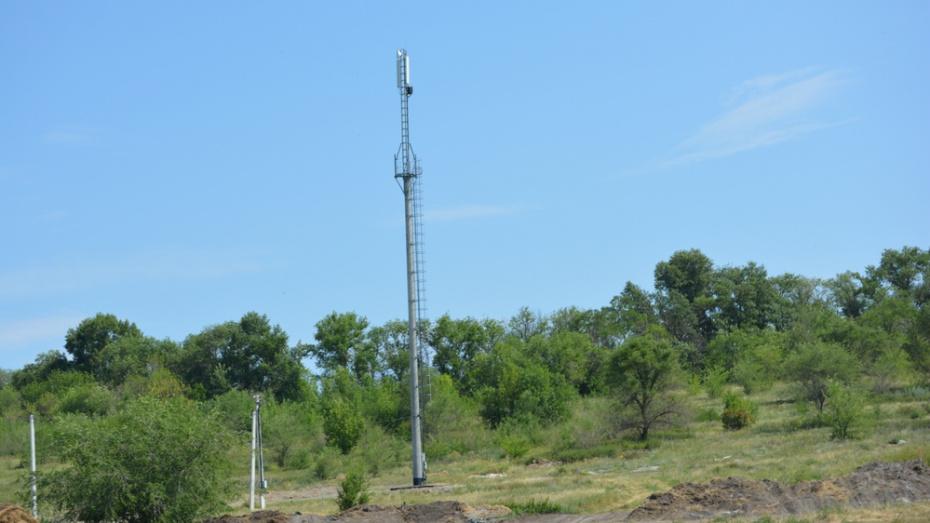 В Россошанском районе в 2 селах установили сотовые вышки