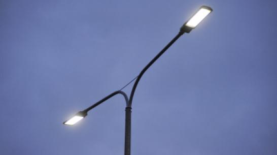 В Воронежской области установят почти 8,5 тыс новых светодиодных фонарей