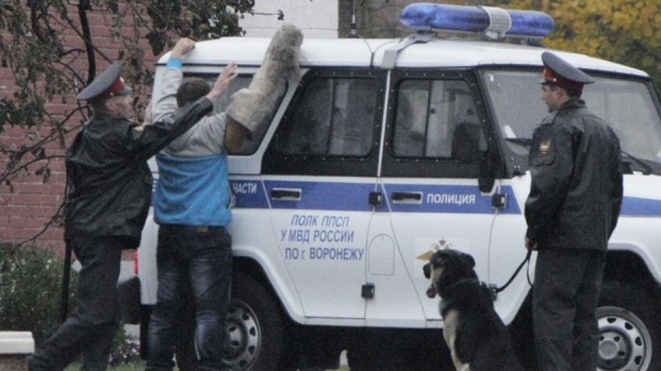 В Воронеже подросток избил двух полицейских и разбил окна в патрульной машине