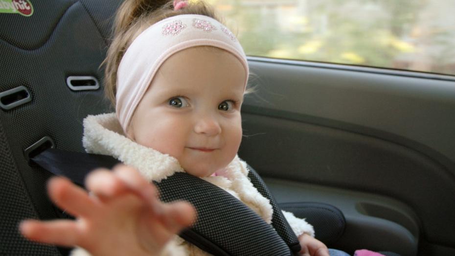 В Воронеже можно будет бесплатно арендовать детское автокресло