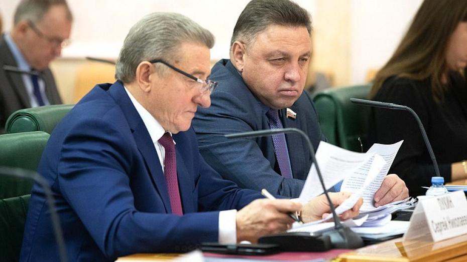 Сенатор от Воронежской области отметил важность развития инженерной инфраструктуры
