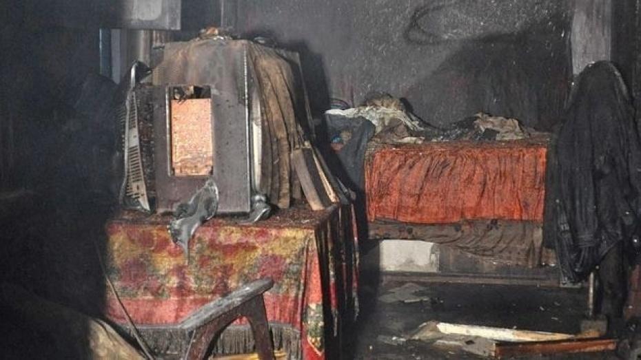 По факту гибели ребенка на пожаре в поселке Кушлев Аннинского района возбуждено уголовное дело