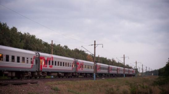 В Воронежской области из-за ремонта на путях изменится расписание 5 электричек