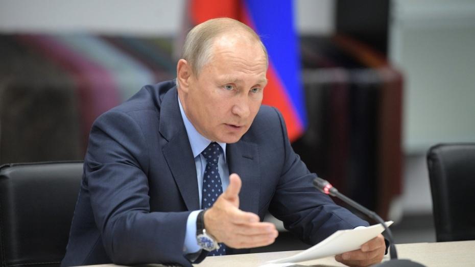 Двое воронежцев получили персональные признательности от Российского Президента Путина