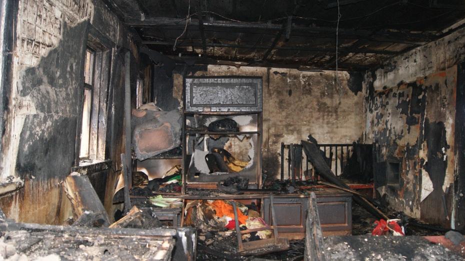 В Воронеже на пожаре в своей квартире погибла 60-летняя женщина-инвалид