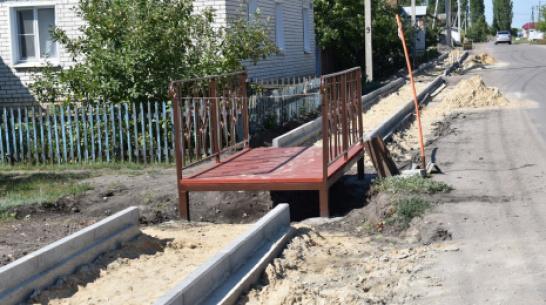 В Поворино на строительство тротуара выделили 1,4 млн рублей