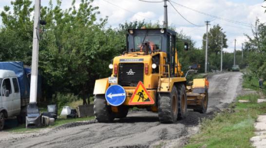 В подгоренском хуторе Становое впервые появилась дорога с твердым покрытием