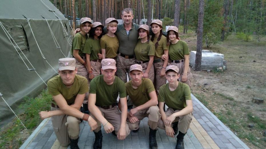 Команда Панинского военно-патриотического клуба заняла 2-е место в областных соревнованиях